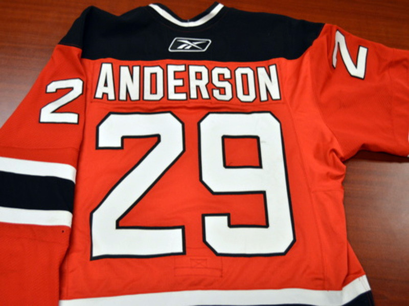 Game worn - #29 Matt Anderson (Away)