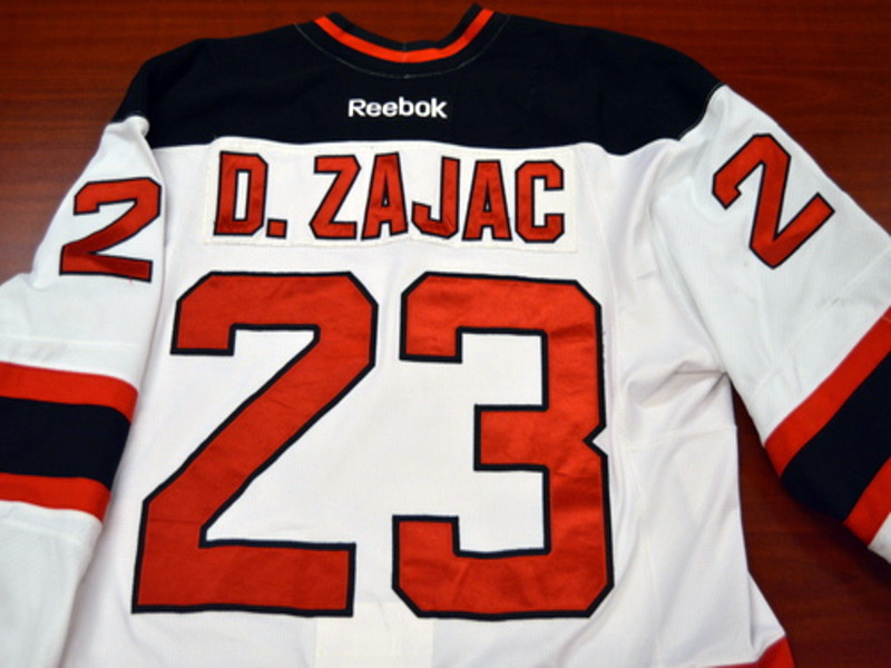 Game worn - #23 Darcy Zajac (Home)