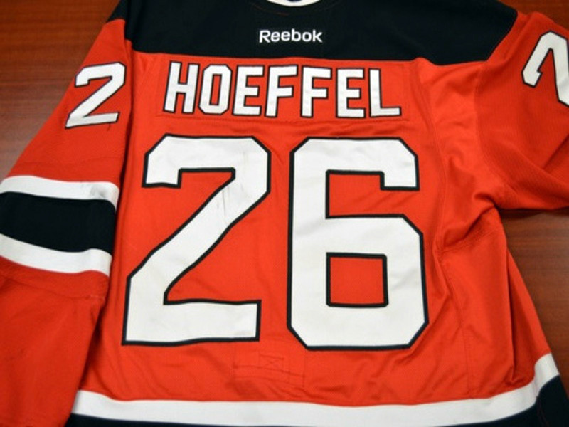 Game worn - #26 Mike Hoeffel (Away)