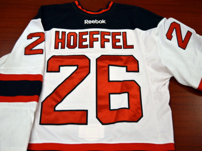 Game worn - #26 Mike Hoeffel (Home)