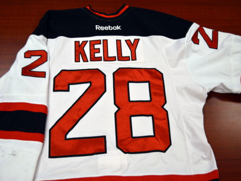 Game worn - #28 Dan Kelly (Home)