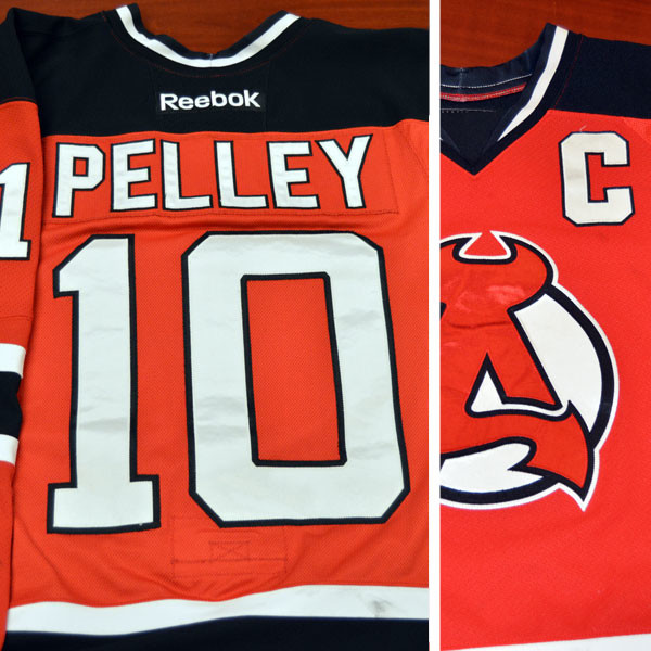 Game worn - #10 Rod Pelley (Away)
