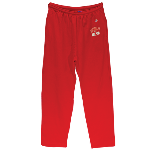 Devils Red Sweat Pants