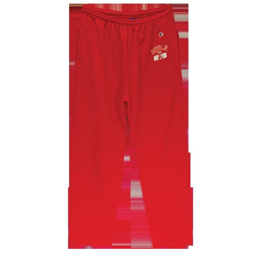 Devils Red Sweat Pants