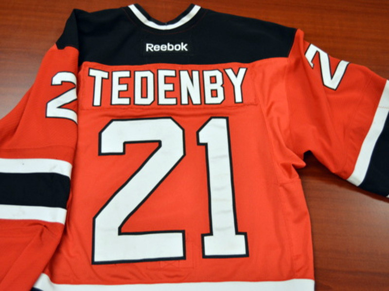 Game worn - #21 Mattias Tedenby (Away)