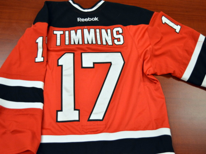 Game worn - #17 Scott Timmins (Away)