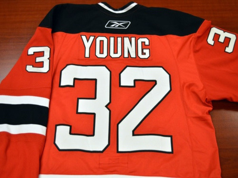 Game worn - #32 Harry Young (Away)