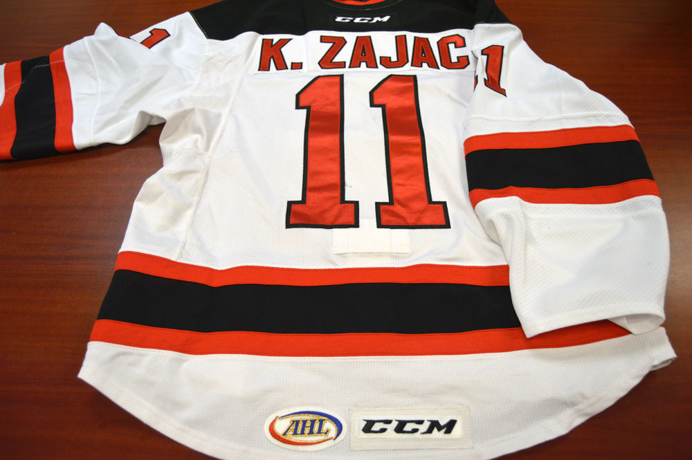 Game Worn - #11 Kelly Zajac (Home)